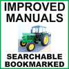 Thumbnail Collection of 2 files - John Deere 2130 Tractor Repair Service Manual & Parts Catalog - IMPROVED - DOWNLOAD