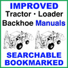 Thumbnail Collection of 3 files - Case 580N TLB Repair Service Manual, Operators Manual & Parts Catalog Manuals - IMPROVED - DOWNLOAD