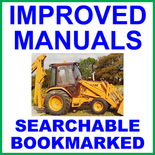 Product picture Collection of 4 files - Case 580 Construction King 1966-1971 Tractor TLB Factory Repair Service Manual & Operators Manual & Parts Manuals - IMPROVED - DOWNLOAD