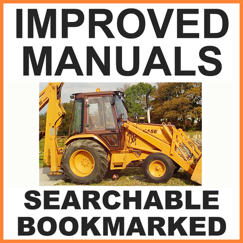 Product picture Case 580SR 580SR+ 590SR 695SR Series 3 Backhoe Loader Service Repair Manual -IMPROVED - DOWNLOAD